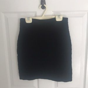 Express Black Pencil Skirt